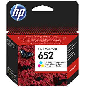 HP 652 Üç Renkli Kartuş F6V24AE