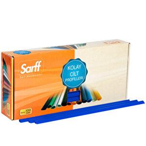 Sarff Sırtlık 6 mm Mavi 100'lü Kutu