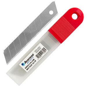Avansas 01248 Maket Bıçağı Yedeği / Falçata Yedeği 18 mm 10'lu Tüp buyuk 1