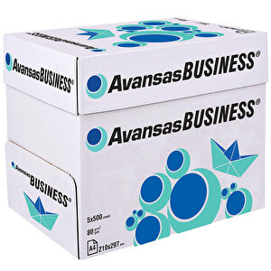 Avansas Business A4 Fotokopi Kağıdı 80 gr 1 Koli (5 Paket) buyuk 3