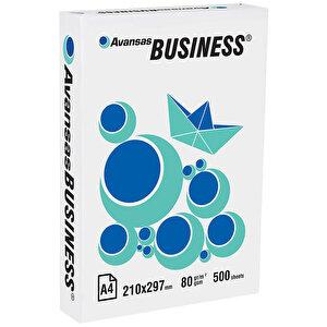 Avansas Business A4 Fotokopi Kağıdı 80 gr 1 Paket (500 yaprak) buyuk 1