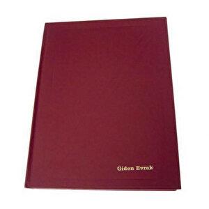 Dilman Giden Evrak Kayıt Defteri Ciltli 192 Yaprak 20 cm x 28 cm buyuk 1