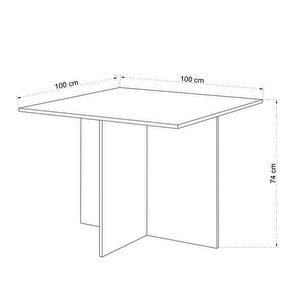 Avansas Comfort Ahşap Toplantı Masası Beyaz