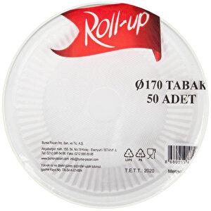 Roll-Up Plastik Tabak 17 cm 50'li Paket buyuk 3