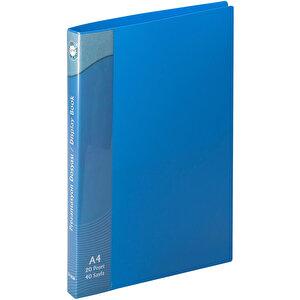 Serve SV-6520 Prezantasyon Dosyası 20 Sayfa Mavi buyuk 1
