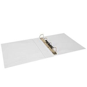 Önder A4 4 Halkalı 5 cm Sunum Klasörü Beyaz buyuk 2