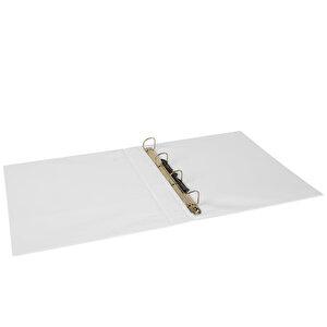 Önder A4 4 Halkalı 3 cm Sunum Klasörü Beyaz