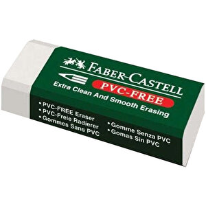 Faber Castell 7085/20 Silgi Beyaz buyuk 1
