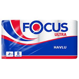 Focus Ultra Rulo Kağıt Havlu 8'li Paket buyuk 1