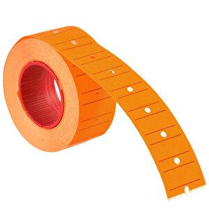 Tanex Motex Çizgili Turuncu 12 mm x 21 mm Fiyat Etiketi 24'lü Paket buyuk 4