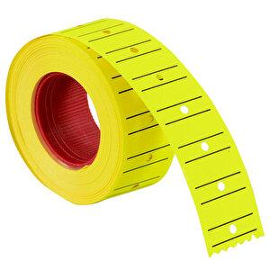 Tanex Motex Çizgili Sarı 12 mm x 21 mm Fiyat Etiketi 24'lü Paket buyuk 4