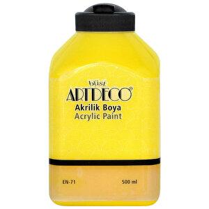 Art Deco Akrilik Boya Sarı 500 ml buyuk 1