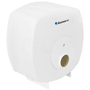 Avansas Soft Jumbo Tuvalet Kağıdı Dispenseri Beyaz buyuk 2