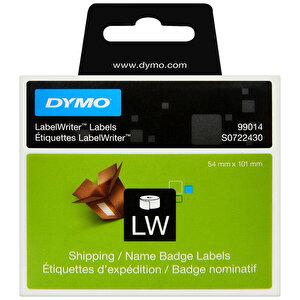 Dymo 99014 LW Sevkiyat Etiketi 101 mm x 54 mm 220 Etiket buyuk 1