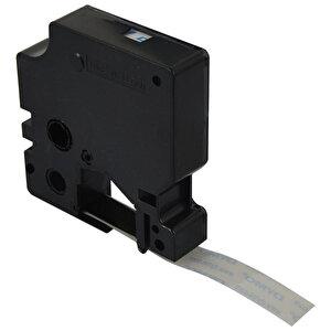 Dymo 45010 D1 Yedek Şerit 12 mm x 7 m Şeffaf / Siyah buyuk 3