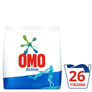 Omomatik Active Toz Çamaşır Deterjanı 4 kg