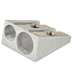 Avansas Av1516 Çiftli Metal Kalemtıraş 4'lü Paket