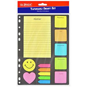Globox Smart Yapışkanlı Not Kağıdı Seti buyuk 1