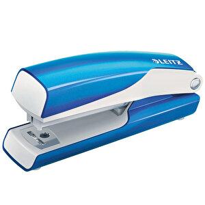 Leitz Wow Zımba Makinesi No:10 10 Sayfa Metalik Mavi buyuk 1