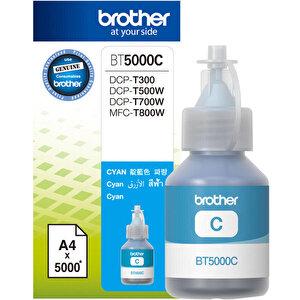 Brother BT5000C Mavi Mürekkep Kartuş 5.000 Sayfa