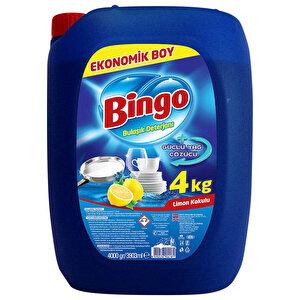 Bingo Bulaşık Deterjanı Limon Kokulu 4 kg buyuk 1