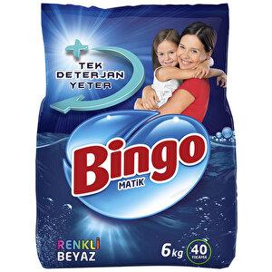 Bingo Matik Renkli-Beyaz Toz Çamaşır Deterjanı 6 kg buyuk 1