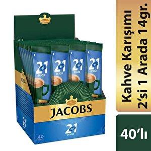 Jacobs 2'si 1 Arada Kahve 14 gr 40'lı Paket