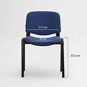 Avansas Comfort Çok Amaçlı 4'lü Misafir Sandalyesi Mavi buyuk 5