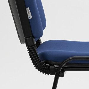 Avansas Comfort Çok Amaçlı 4'lü Misafir Sandalyesi Mavi buyuk 7