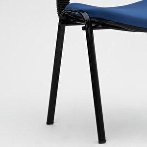 Avansas Comfort Çok Amaçlı 4'lü Misafir Sandalyesi Mavi buyuk 8