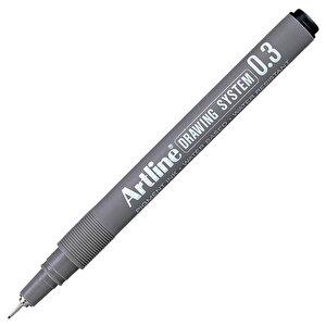 Artline 233 Çizim Kalemi 0.3 mm Siyah