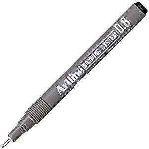 Artline 238 Çizim Kalemi 0.8 mm Siyah buyuk 1