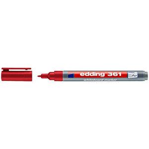 Edding 361 Tahta Kalemi İnce Uçlu Kırmızı buyuk 2