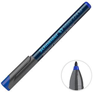 Schneider 224 Asetat Permanent M Kalem Mavi