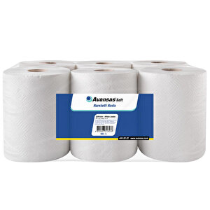 Avansas Soft Hareketli Kağıt Havlu 4 kg 21 cm 6'lı Paket buyuk 1