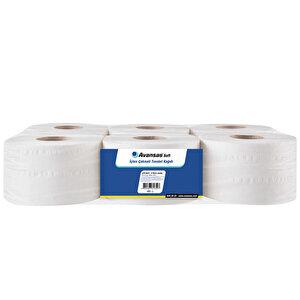 Avansas Soft İçten Çekmeli Tuvalet Kağıdı 6'lı Paket buyuk 1