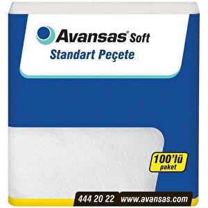 Avansas Soft Standart Peçete 100'lü Paket buyuk 1