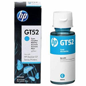 HP M0H54AE GT52 Mavi (Cyan) Şişe Mürekkep Kartuşu buyuk 1