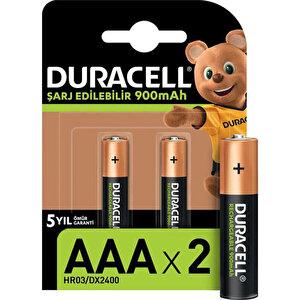 Duracell 850 mAh Şarj Edilebilir AAA İnce Kalem Pil 2'li Paket