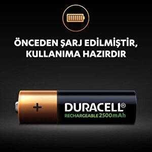 Duracell Şarj Edilebilir AA 2500mAh Piller, 2'li paket buyuk 4