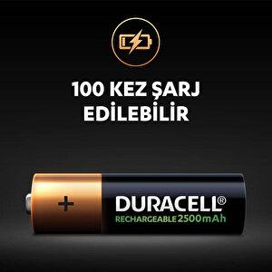 Duracell Şarj Edilebilir AA 2500mAh Piller, 2'li paket buyuk 5