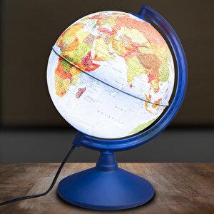 Globe 41201 Işıklı Fiziki + Siyasi Küre 20 cm buyuk 2