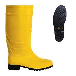 PVC Uzun Çizme Sarı No:40