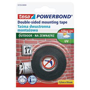 Tesa Powerbond Dış Mekan Çift Taraflı Köpük Montaj Bandı 1.5 m x 19 mm buyuk 1