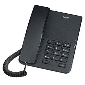 Karel TM140 Kablolu Telefon Siyah buyuk 1