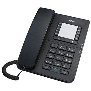 Karel TM142 Kablolu Telefon Siyah