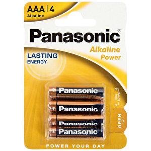 Panasonic Alkalin Power AAA İnce Kalem Pil 4'lü Paket