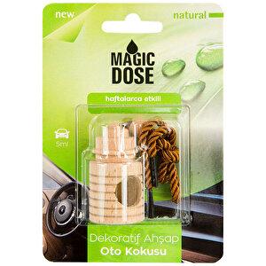 Magic Dose FA1-337 Dekoratif Ahşap Oto Kokusu Natural