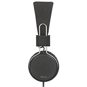 Trust 21821 Ziva Mikrofonlu Kulaklık Siyah
