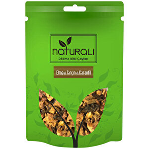 Naturali Elma Tarçın Karanfil Dökme Bitki Çayı 100 gr buyuk 1
